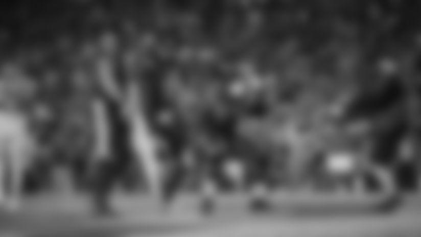 Highlight: Mark Ingram Leaps Over Pile for Touchdown