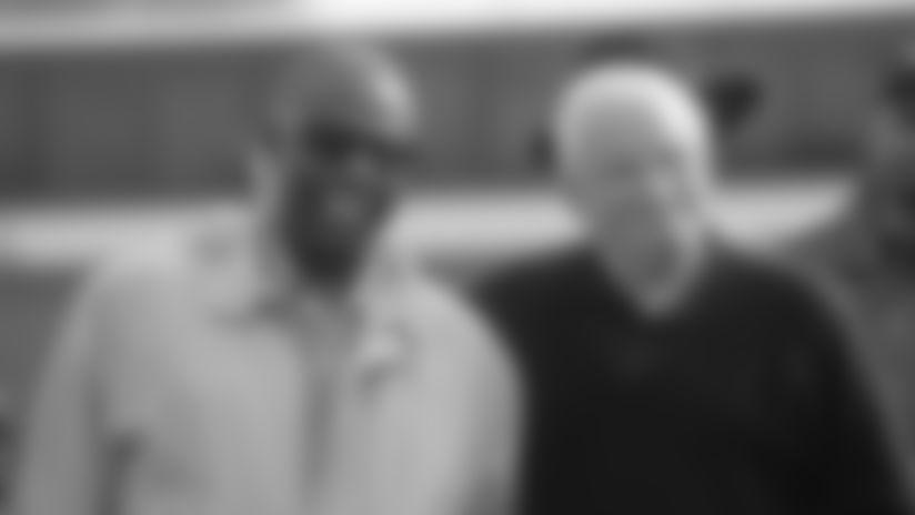 Hank Aaron and Art Modell