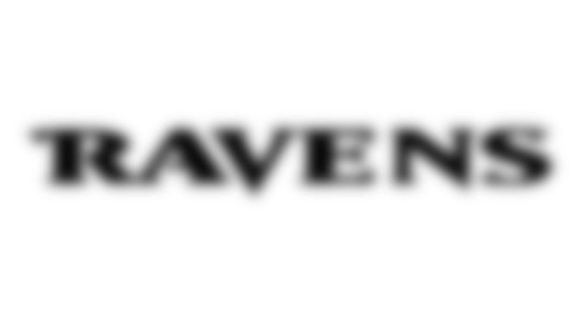Ravens Pumpkin Carving Stencil: Ravens Text Logo