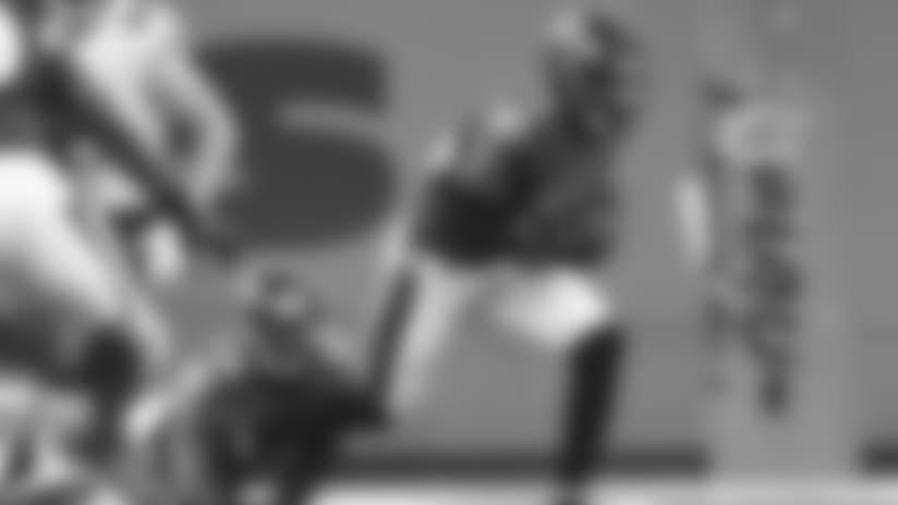 Highlight: Safety Chuck Clark Grabs Tipped Interception