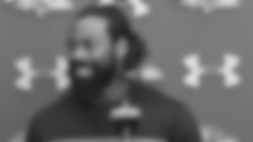 Za'Darius Smith Talks About Ravens' Pass Rush