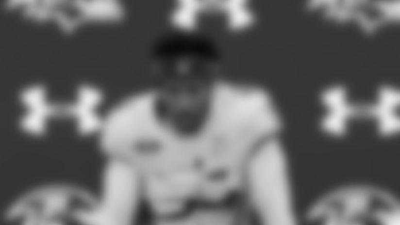 Marlon Humphrey: A Lot of Trash Talk at Ravens Practice