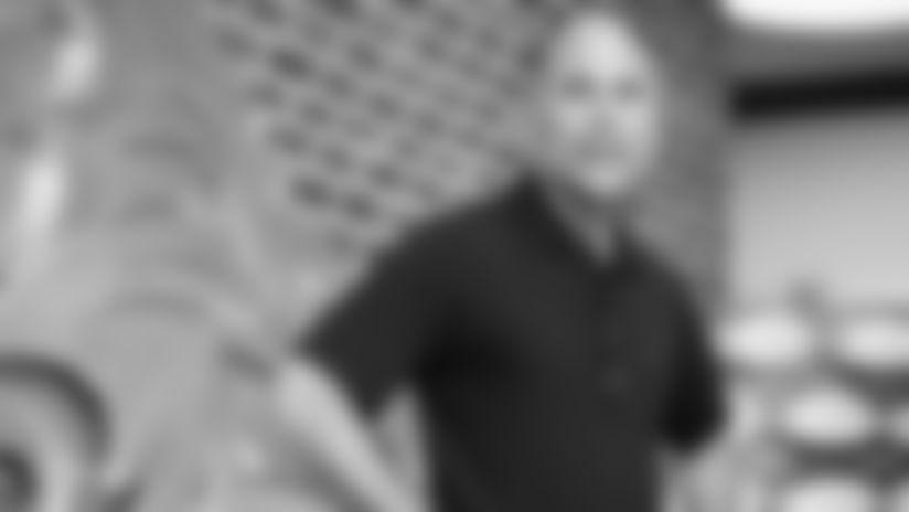 General manager Eric Decosta