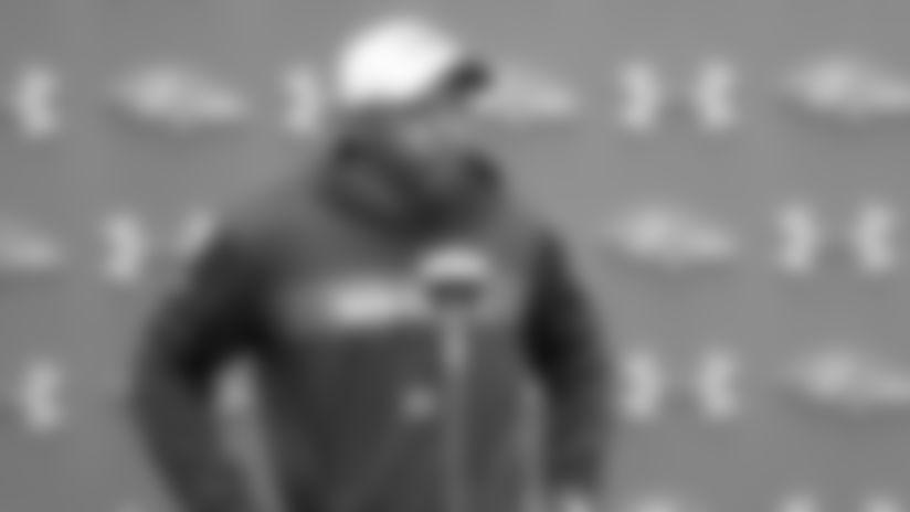 Chris Horton Talks About Kickoff Returner Decision