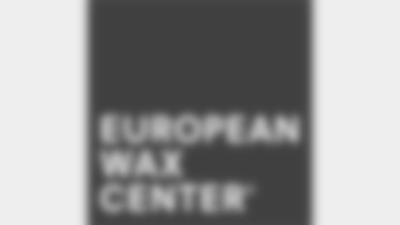 Cheerleaders Sponsors Logo European Wax Center
