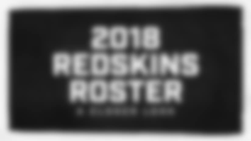 A Closer Look At The Redskins' 2018 Roster