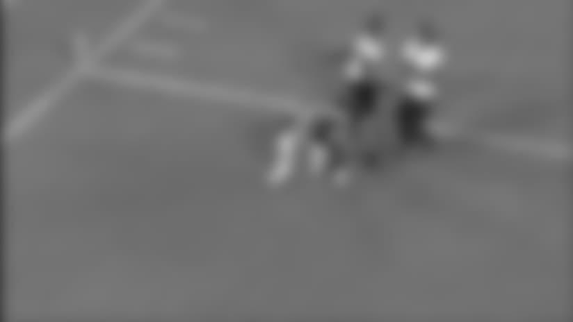 DeVeon Smith Breaks Away For A 28-Yard Touchdown