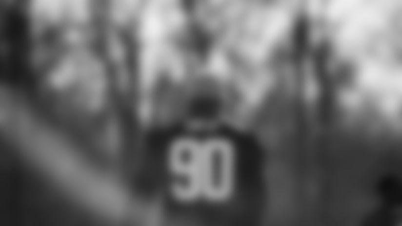 The Washington Football team held practice at the Inova Sports Performance Center in Ashburn, Virginia, on Nov. 24, 2020. (Photos courtesy of Elijah Walter Griffin Sr./Washington Football Team and Emilee Fails/Washington Football Team)