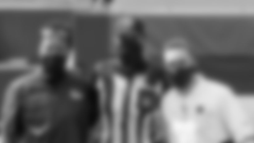Cleveland Browns head coach Kevin Stefanski, Washington Football Team head coach Ron Rivera share importance of women in NFL coaching jobs.