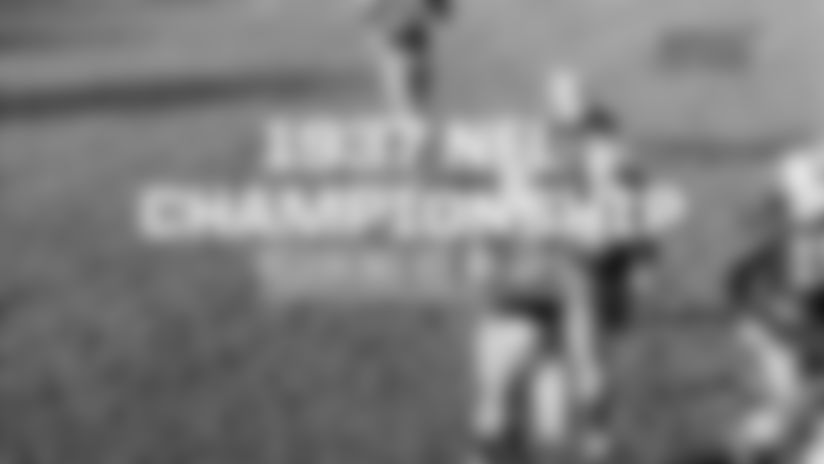 Sammy Baugh Leads Redskins To 1937 NFL Title