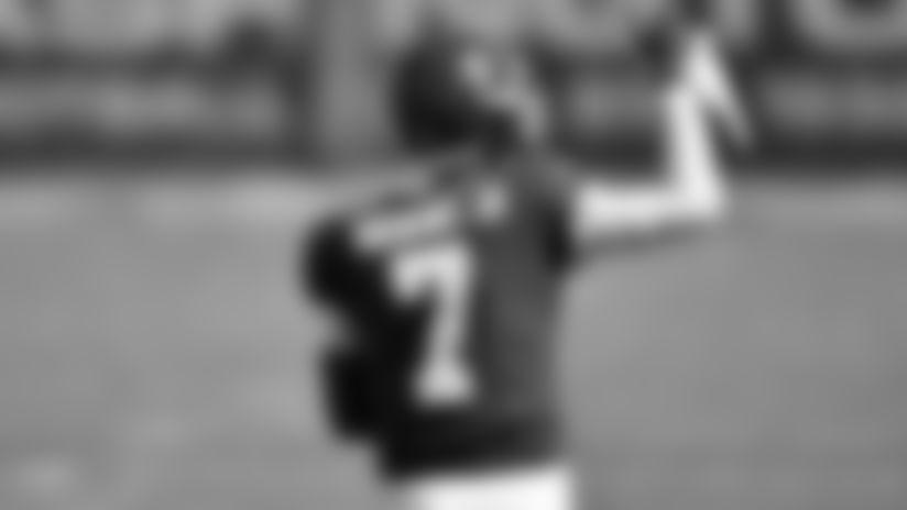 Washington Football Team quarterback Dwayne Haskins (7) during an NFL football game against the Philadelphia Eagles, Sunday, Sep. 13, 2020 in Landover, Md. (Alika Jenner/NFL)