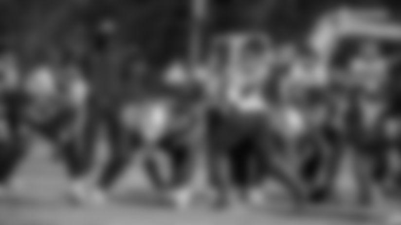The Washington Football team held practice at the Inova Sports Performance Center in Ashburn, Virginia, on Jan. 7, 2021. (Photos courtesy of Elijah Walter Griffin Sr./Washington Football Team)