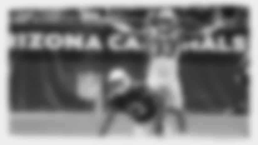 Carolina Panthers defensive back Tre Boston (33) during an NFL football game against the Arizona Cardinals, Sunday, Sept. 22, 2019, in Glendale, Ariz. (AP Photo/Rick Scuteri)