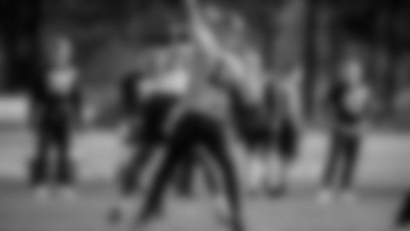 The Washington Football team held practice at the Inova Sports Performance Center in Ashburn, Virginia, on Nov. 13, 2020. (Photos courtesy of Courtney Rivera/Washington Football Team, Elijah Walter Griffin Sr./Washington Football Team and Emilee Fails/Washington Football Team)