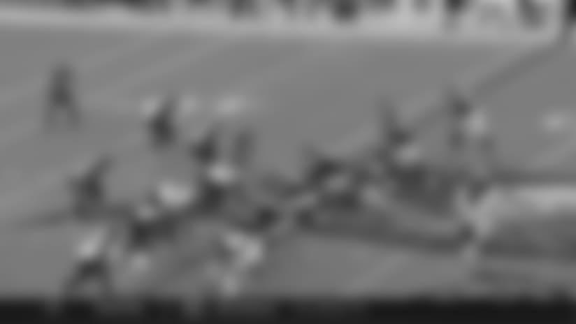 Maurice Harris Creates Separation For 20-Yard Grab