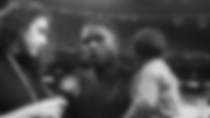 Reggie Bush Saints Hall of Fame interview