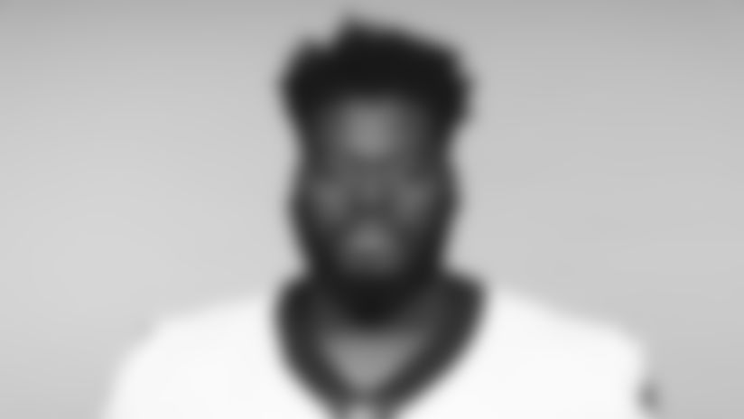 This is a 2019 photo of Derrick Kelly II of the New Orleans Saints football team. This image reflects the New Orleans Saints roster as of June 3, 2019 when this image was taken. (AP Photo)