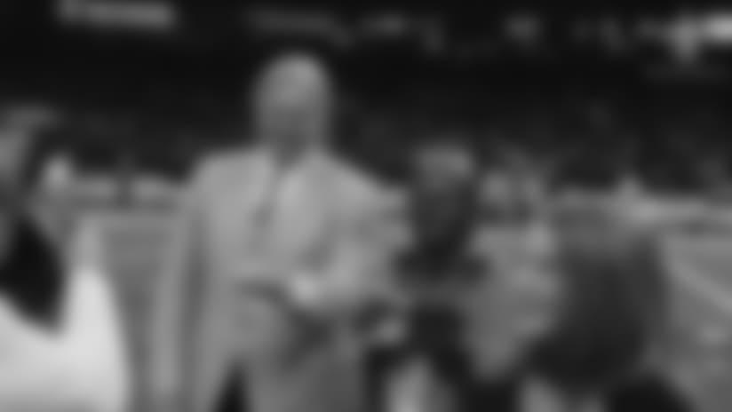 Morten Andersen Receives Pro Football Hall of Fame Ring