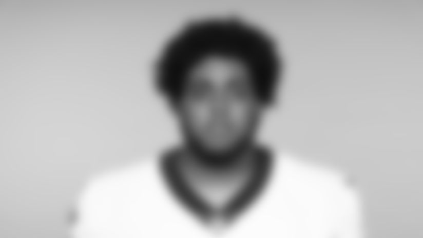 This is a 2019 photo of Ethan Greenidge of the New Orleans Saints football team. This image reflects the New Orleans Saints roster as of June 3, 2019 when this image was taken. (AP Photo)