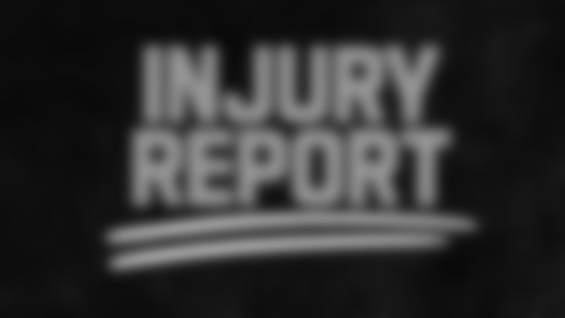 Eight New Orleans players listed in Wednesday's report