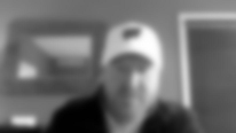 Wisconsin OLB coach Bobby April III talks Saints draft pick Zack Baun