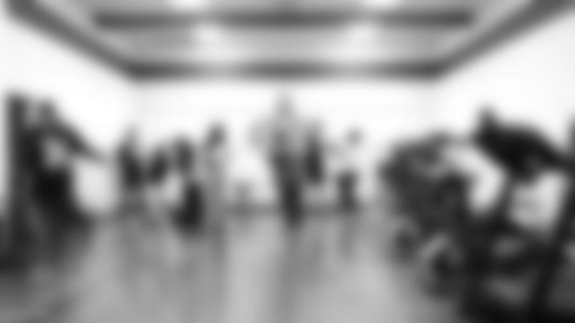 Saints, UnitedHealthcare unveil Get Fit Zone at Einstein Charter School