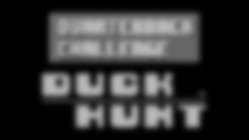 Saints QB Challenge: Duck Hunt