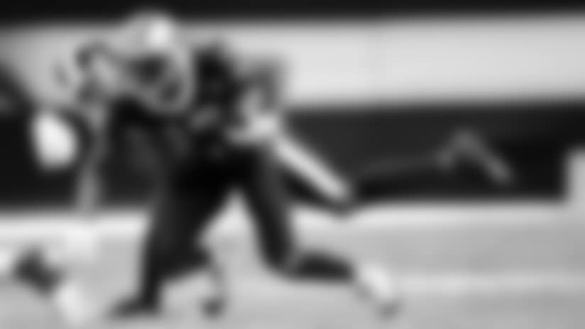 Week 9 Saints vs Rams: Game Action #1