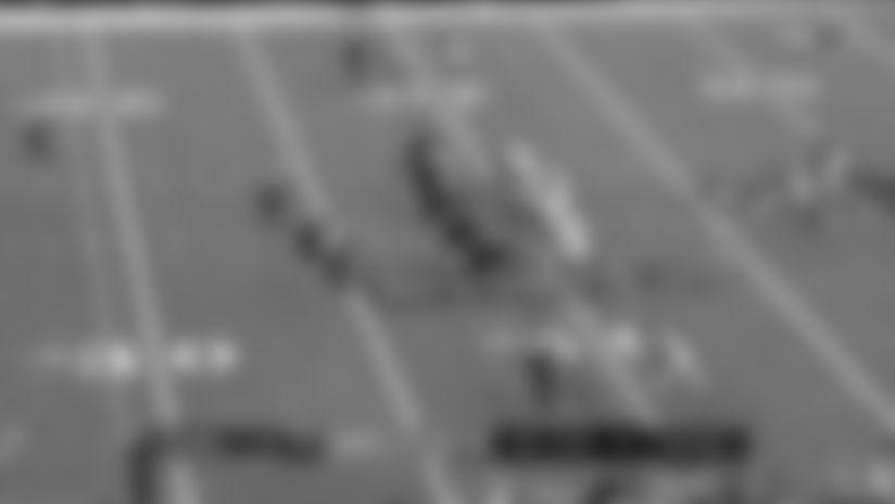 Lattimore shows POWER breaking up the pass to Falcons' Julio Jones