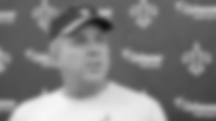 Coach Sean Payton's season-ending teleconference