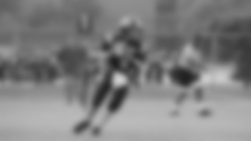 Adam Trautman started out as a quarterback.