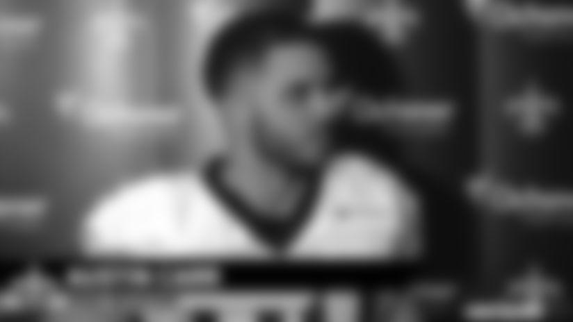Austin Carr media availability - 2019 Saints Training Camp - Monday, August 19