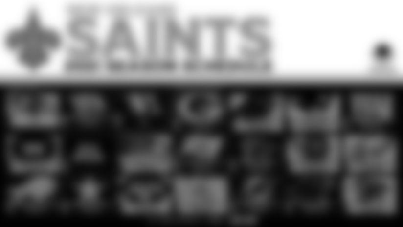 Saints 2021 regular season kicks off against Green Bay on Sept. 12