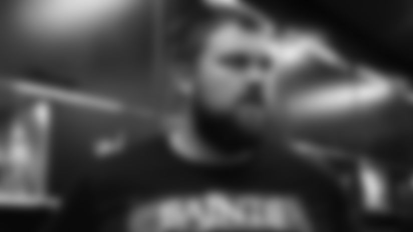 """Ryan Ramczyk: """"It is going to be a good challenge this week"""""""