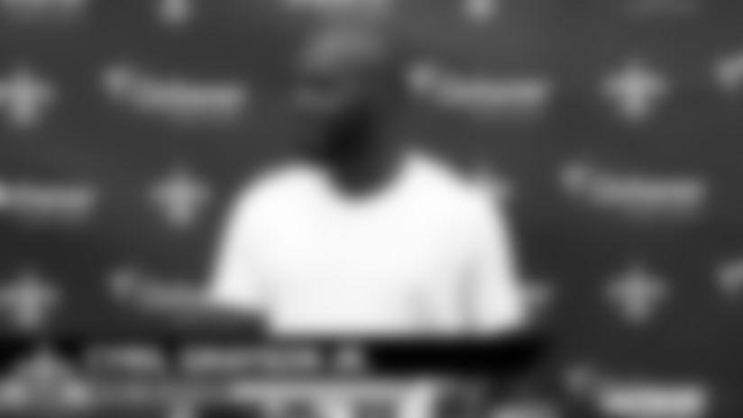 Cyril Grayson Jr. media availability - 2019 Saints Training Camp - Wednesday, August 21
