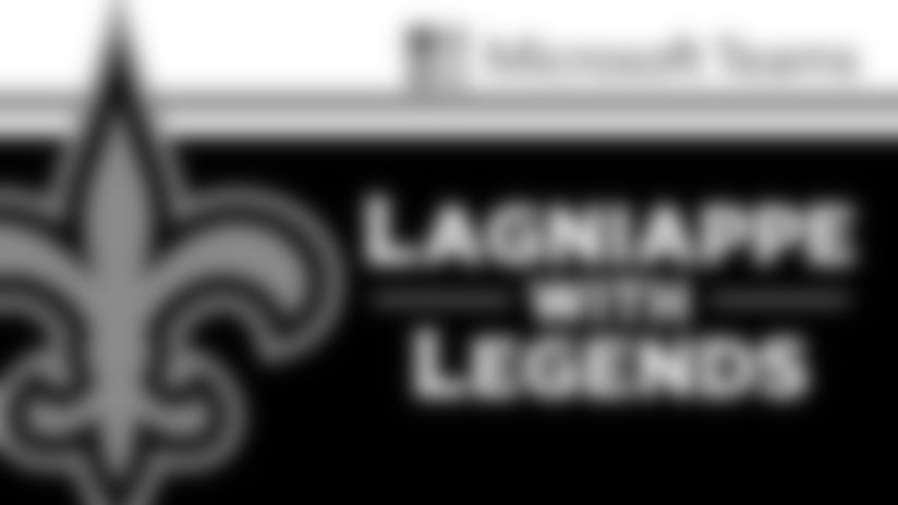 Legends Lagniappe: Former New Orleans Saints fullback Jed Collins