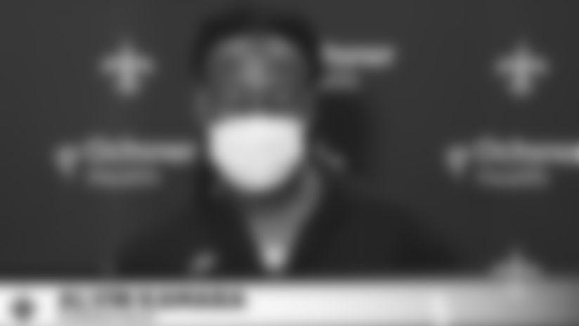 Alvin Kamara - Oct. 22, 2020