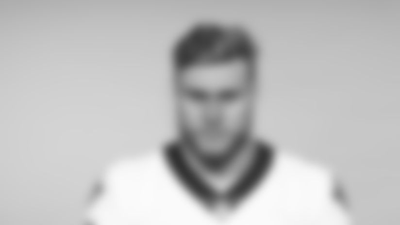 This is a 2019 photo of Porter Gustin of the New Orleans Saints football team. This image reflects the New Orleans Saints roster as of June 3, 2019 when this image was taken. (AP Photo)