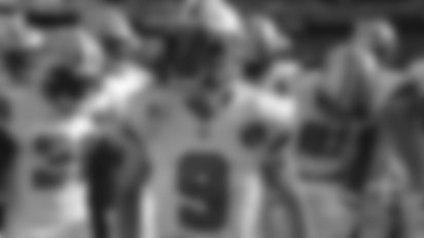 Drew Brees Pregame Huddle: Week 4 at Giants