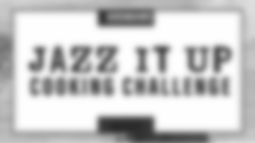 Saints & NOCCA team up for the Zatarain's Jazz It Up Cooking Challenge