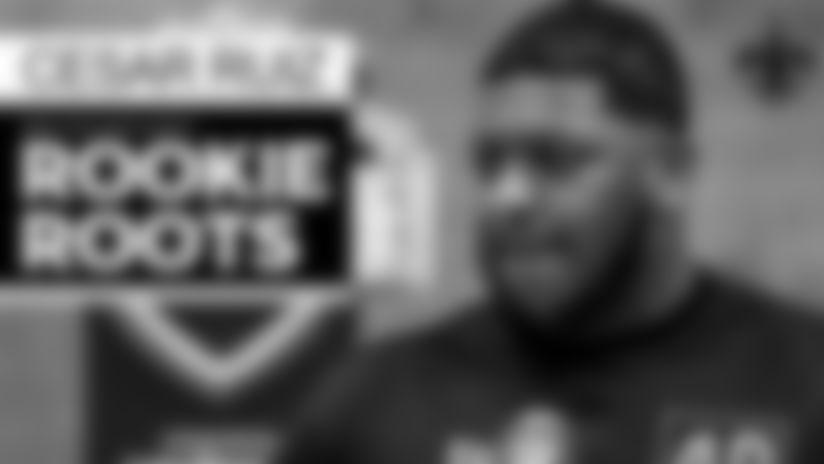Rookie Roots: Story of Saints draft pick Cesar Ruiz