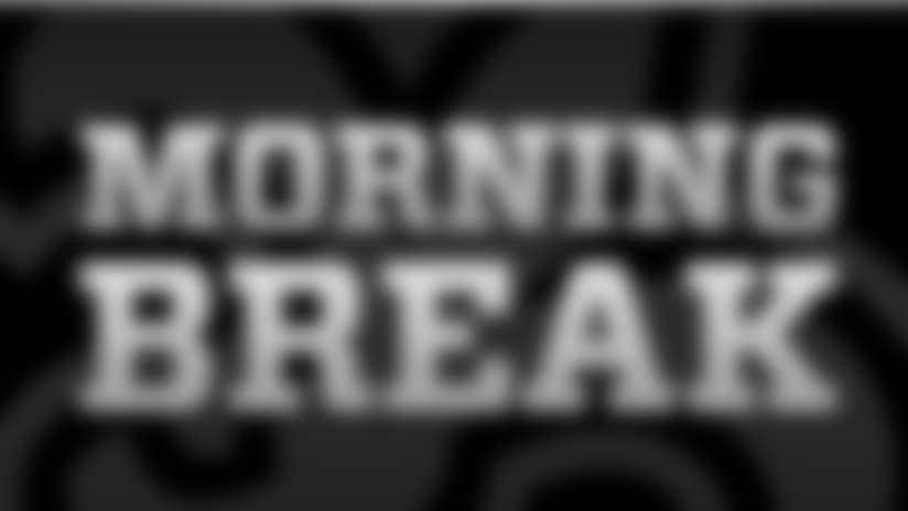 Saints Morning Break for Monday, Feb. 24