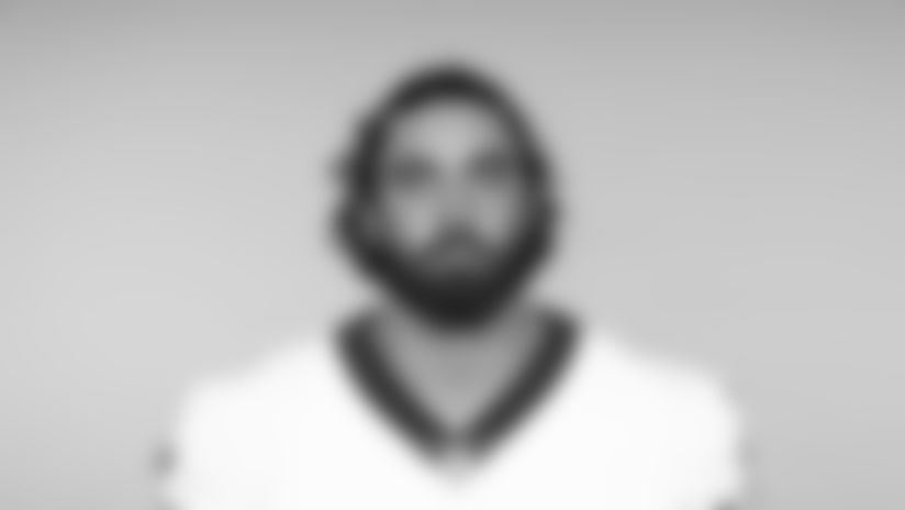 This is a 2019 photo of Corbin Kaufusi of the New Orleans Saints football team. This image reflects the New Orleans Saints roster as of June 3, 2019 when this image was taken. (AP Photo)