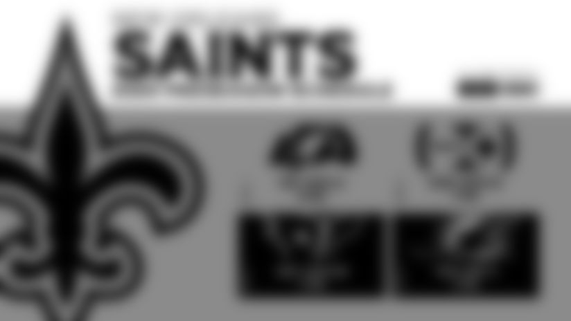 Saints 2020 preseason schedule presented by SeatGeek announced