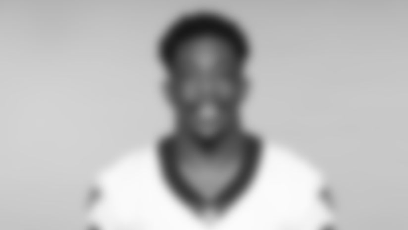 This is a 2019 photo of Devine Ozigbo of the New Orleans Saints football team. This image reflects the New Orleans Saints roster as of June 3, 2019 when this image was taken. (AP Photo)