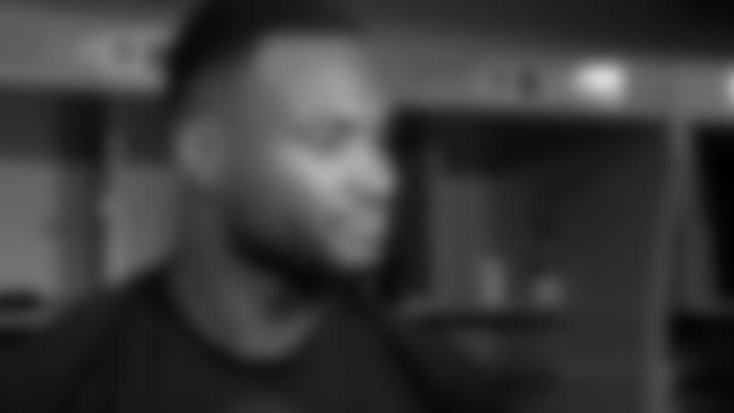 Latavius Murray Postgame Interview | Saints-Jaguars in Week 6 2019
