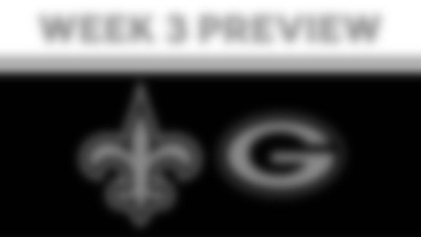 Saints vs Packers 2020 Week 3 Preview