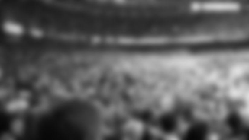 Raw video: Saints fans celebrate 12-10 victory over Dallas Cowboys