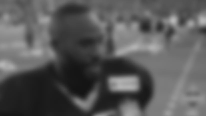 Alex Okafor Training Camp Media Availability - August 5