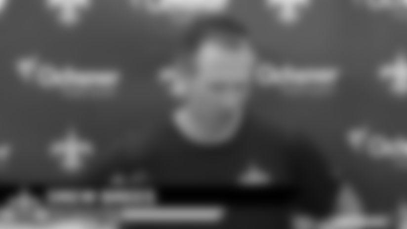 Drew Brees media availability - 2019 Saints Training Camp - Thursday, August 1